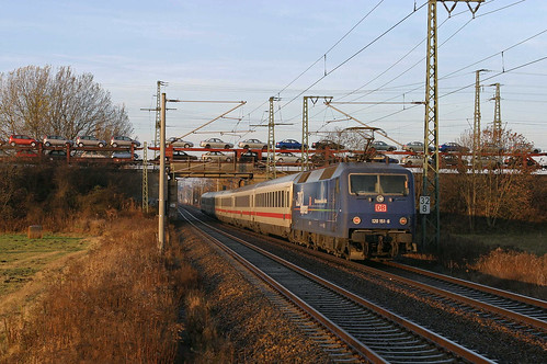 DB 120 151 ZDF + IC 2132 - Cottbus - Nordeich Mole - Kuhfort