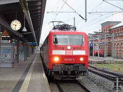 120 104 Rostock 17-01-2018 (vorstadtjazz) Tags: 120104 br120 intercity rostock stralsund eisenbahn bahn bahnhof ic hauptbahnhof