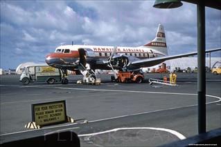 Hawaiian Convair Honolulu 1950s