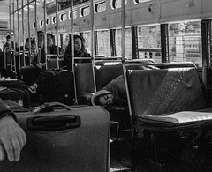 F Train, San Francisco (Postcards from San Francisco) Tags: sanfrancisco ma 35mmsummicronasph berggerpancro400 munifcar film analog