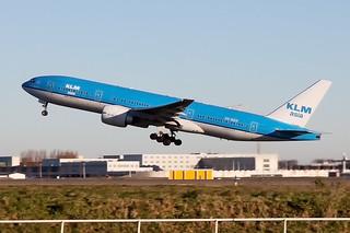 PH-BQK, Boeing 777-206 ER, KLM Royal Dutch Airlines