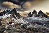 Tri cimes Dolomites Italie (EtienneR68) Tags: landscape blue bleu colors hills montagne mountain nature paysage dolomites dolomiti trecimes marque a7r2 a7rii sony pays italie italy type longexposure