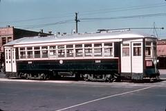 Chicago & West Towns 126 9-18-39 (jsmatlak) Tags: chicago cta csl streetcar trolley tram electric railway