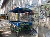 Trolley on South Boulevard in Pondicherry (Tjeerd) Tags: trolley cart southboulevard subbiahsalai pondicherry puducherry tondainadu pondichéry unionterritory stall india pondy incredibleindia
