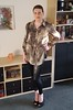 Cover Girl (Rikky_Satin) Tags: silk satin blouse leather leggings pumps peeptoe crossdressing crossdresser transformation transformed mtf m2f tgirl tgurl gurl