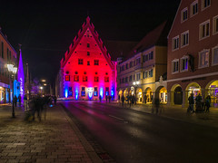 Lichternacht 2017 - Fuggerhaus (Tobias Keller) Tags: 43 architektur bavaria bayern beleuchtung deutschland donauries donauwörth germany herbst ilumination lichternacht schwaben swabia weitwinkel weitwinkelkonverter architecture autumn fall geo:lat=48719556216667 geocountry camera:make=panasonic exif:isospeed=160 geostate geocity geo:lon=10776899166667 exif:focallength=14mm camera:model=dmcg5 geolocation exif:lens=lumixg14f25 exif:aperture=ƒ80 exif:model=dmcg5 exif:make=panasonic lumixg14f25 panasonicdmcg5