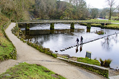 Stepping Stones at Bolton Abbey near Skipton in North Yorkshire (Kingsley_Allison) Tags: steppingstones boltonabbey yorkshire yorkshiredales northyorkshire skipton nikon nikond7200 d7200 water stream river england priory thedevonshirearms riverswale