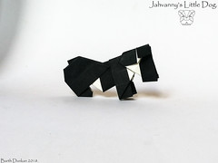 Jahvanny's Little Dog - Barth Dunkan. (Magic Fingaz) Tags: anjing barthdunkan chien chó dog hond hund köpek origami perro pies пас пес собака หมา 개 犬 狗