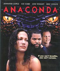 Anaconda (Count_Strad) Tags: movie cover art coverart drama action horror comedy mystery scifi vhs dvd bluray