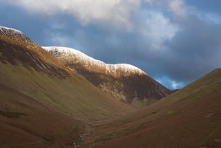 Sunlit Mountains