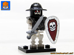 SKELETON ARMY 03 (baronsat) Tags: skeleton army lego minifig custom combo mix warriors battle undead magic game war knight tabletop