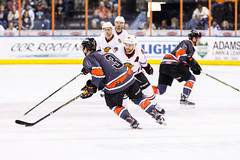 "Kansas City Mavericks vs. Indy Fuel, February 17, 2018, Silverstein Eye Centers Arena, Independence, Missouri.  Photo: © John Howe / Howe Creative Photography, all rights reserved 2018 • <a style=""font-size:0.8em;"" href=""http://www.flickr.com/photos/134016632@N02/40342594432/"" target=""_blank"">View on Flickr</a>"