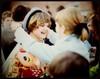 School is over... Wife in 1969. (iEagle2) Tags: woman wife ehefrau sweden summer srt101 sixties 1969 school trollhättan teen teenager slide ektachrome minolta female femme frau film