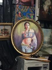 Frida painting (C-Monster) Tags: tijuana mexico frida madonna