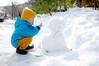 snow friend (.:*ghost*:.) Tags: nikond40 sigma 30mm f14 digital kinosaki snowman