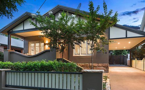 5 Reserve St, Hunters Hill NSW 2110