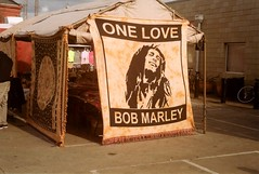 One Love, Bob Marley (bongo najja) Tags: m3 leica 200 iso fujifilm market flea orleans new