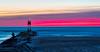 Fishing At Sunrise - Indian River Inlet (stevebfotos) Tags: reviewtodelete atlanticocean bethanybeach delaware unitedstates us indianriverinlet sunrise topaz water
