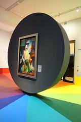 colorful (mgheiss) Tags: kunst museum freiburgimbreisgau augustinermuseum sonyrx100iii farbenfroh ausstellung hölzel märz march spätwinter museumsbesuch