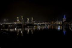 Kampen01 (Henk Melenhorst) Tags: kampen avondfotografie nikon d750 ncn nikonclubnederland nikond750 night nightphotography stadsbrug