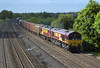 66183 and 67030 head a mixed freight through Lower Basildon on 19-5-09. Copyright Ian Cuthbertson (I C railway photo's) Tags: class66 shed 66183 ews class67 67030 lowerbasildon