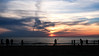 Fun aan Zee (MrTheEdge7) Tags: noordwijk netherlands noordwijkaanzee nederlands holland zuidholland sea ocean northsea beach sunset bloodredsky horizon