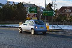 OV05UDY (Callum's Buses and Stuff) Tags: micra k12 edinburgh 12 lothian car nissan s road edinburghedinburgh blue hillend ov05udy