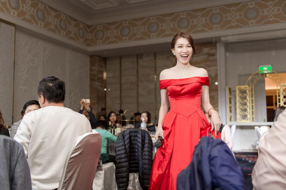 婚攝 高雄林皇宮 婚宴 時尚氣質新娘現身 S & R 136