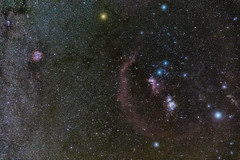 Orion Nebulosity (Mike.Sabina) Tags: paicines california unitedstates us pinnaclesnationalpark orion astrophotography nebula nebulosity