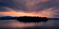 Stormy Sunset | October 2017 (pklopper) Tags: explorebc pk1photos britishcolumbia ladysmith vancouverisland nikon clouds island water longexposure drama colour sunset