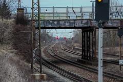 "Leipzig, Gohlis-Nord, ""Bahngleise und marode Brücke"" (joergpeterjunk) Tags: leipzig gohlisnord outdoor landsbergerstr bahngleise marodebrücke canoneos50d canonefs1785mmf456isusm"