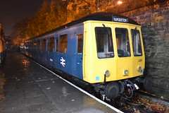 Class 122 - 55001 (Will Swain) Tags: bury bolton street station east lancs railway scenic railcar weekend 4th november 2017 elr train trains rail railways transport travel uk britain vehicle vehicles country england english north west preserved heritage class 122 55001