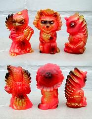 Oh My Yokai Night Parade (The Moog Image Dump) Tags: candie bolton tag oh my yokai night parade toy figure japan japanese folk monsters