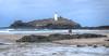 Godrevy Lighthouse, Cornwall (Baz Richardson (catching up again)) Tags: cornwall godrevy godrevylighthouse coast beaches stivesbay rocks nationaltrust lighthouses