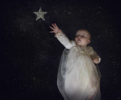 Wishing (loulou_alexander) Tags: wishing star baby dreams follow flying flight fly your dream reach beauty daughter louise alexander fine art photography