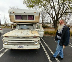 Thor: 1966 Chevrolet C30 'Open Road' Camper (RZ68) Tags: chevy chevrolet classic vintage old 1966 66 man driver thor camper c30 c20 c10 lgg6