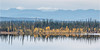 Midway Lake_0267 (uwe_cani) Tags: alaska alaskahighway usa amerika america landschaft landscape outdoor natur nature wasser water see lake berge mountain spiegelung reflection