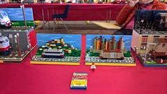 Winter Bricks 6 (Claudio Calzoni) Tags: moc lego train diorama engine vagon bricks carriage rail