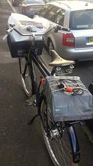 Pre Christmas charity shop trip (Dan K ™) Tags: transportfiets workbike cycling dutchstyle cortina london cortinafietsen opafiets dutchbike