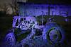 Purple Tractor (Notley Hawkins) Tags: httpwwwnotleyhawkinscom notleyhawkinsphotography notley notleyhawkins 10thavenue lightpainting trees fall outdoors 2017 november night nocturne evening light bucolic ruralfarm missouri farm missouriphotography ruralphotography midwest ruralusa bluelight 光绘 光繪 lichtmalerei pinturadeluz ライトペインティング प्रकाशपेंटिंग barn tractor shadows