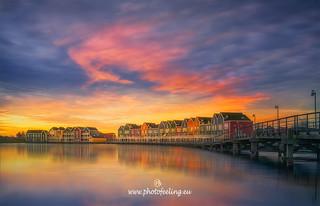 Netherlands Sunset in Fairiesland