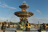 Place de la Concorde - Paris (France) (Meteorry) Tags: europe france idf îledefrance paris placedelaconcorde concorde place square fountains fontaines water eau evening soir summer été statues august 2017 meteorry