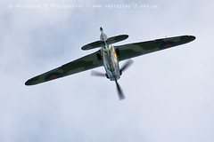 6272 Hangar 11 Hurribomber (photozone72) Tags: eastbourne airshows aircraft airshow aviation hurricane hurribomber hangar11 pegs mkiib canon canon7dmk2 canon100400f4556lii 7dmk2