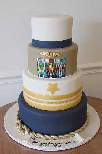 Military Retirement Cake