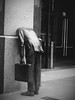 Monday, happy monday!! (PURIFM) Tags: estatua la los angeles street art statue 725soutgfigueroa officeworking