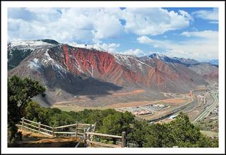 Glenwood Springs, Colorado From Iron Mountain