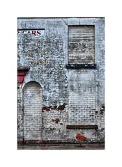 Whitewashed ! (CJS*64) Tags: cjs64 craigsunter cjs salford liverpoolstreet 24mm85mmlens nikon nikkorlens nikkor nikond7000 dslr d7000 derelict dereliction colour colours building