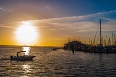 Boats by the Pier (Cracked_Lens) Tags: sunset sun sunsetboat floridasunset sky skyart skyporn skyonfire orange orangesky floridanature floridasky florida floridaclouds floridabeach river manateeriver boat boats