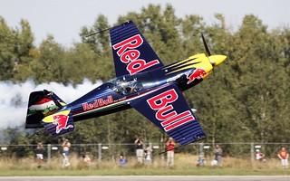 Corvus Racer - low level slip @ LKHK