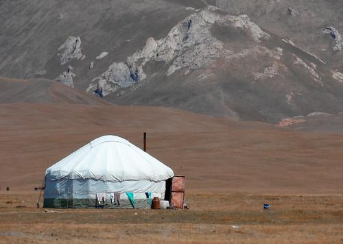 Yourte, près du Pamir